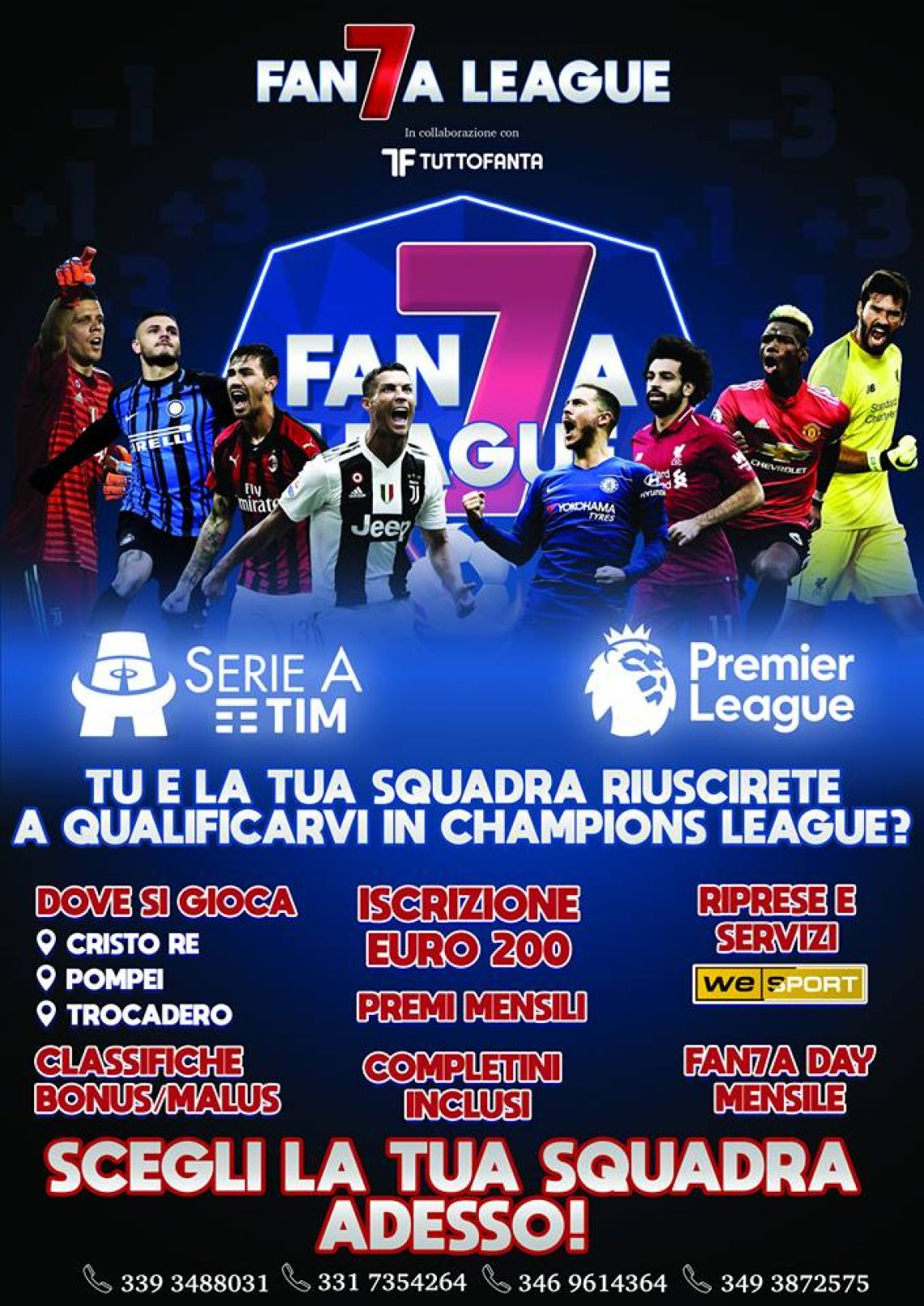 Serie A - Fan7a League 2019