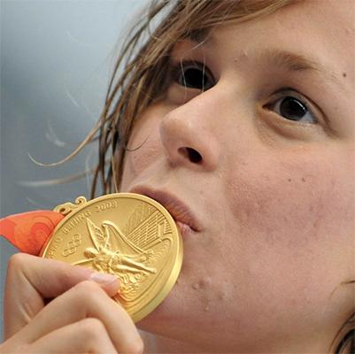 Pellegrini, nuotatrice dei record
